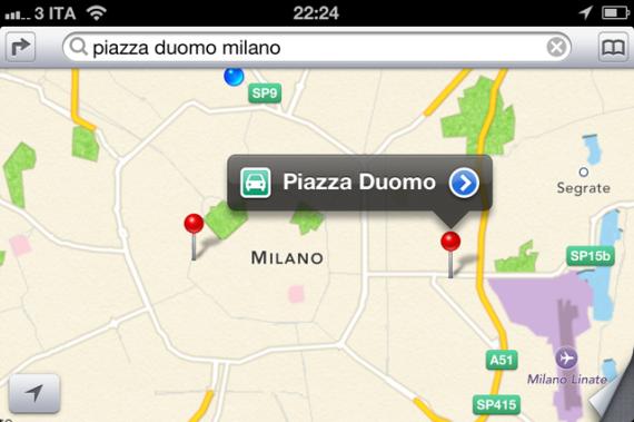 Mappe iOS 6