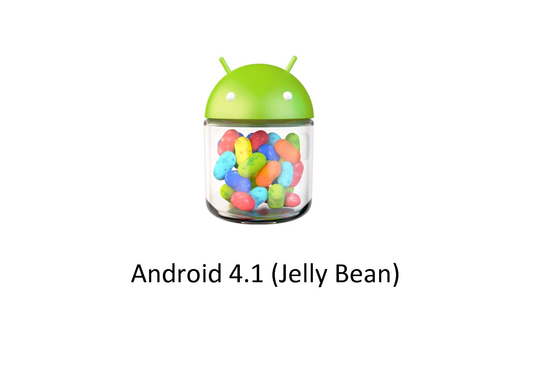 Google presenta Android 4.1 Jelly Bean