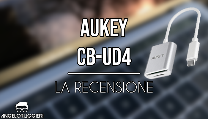 AUKEY USB C Lettore Schede SD/Micro SD USB 3.0 in Alluminio OTG Card Reader USB C 2 in 1 per MacBook PRO 2017/2016, Samsung S8, dell XPS 13/15, Huawei P9/P10/Mate 10, Altri Dispositivi USB C