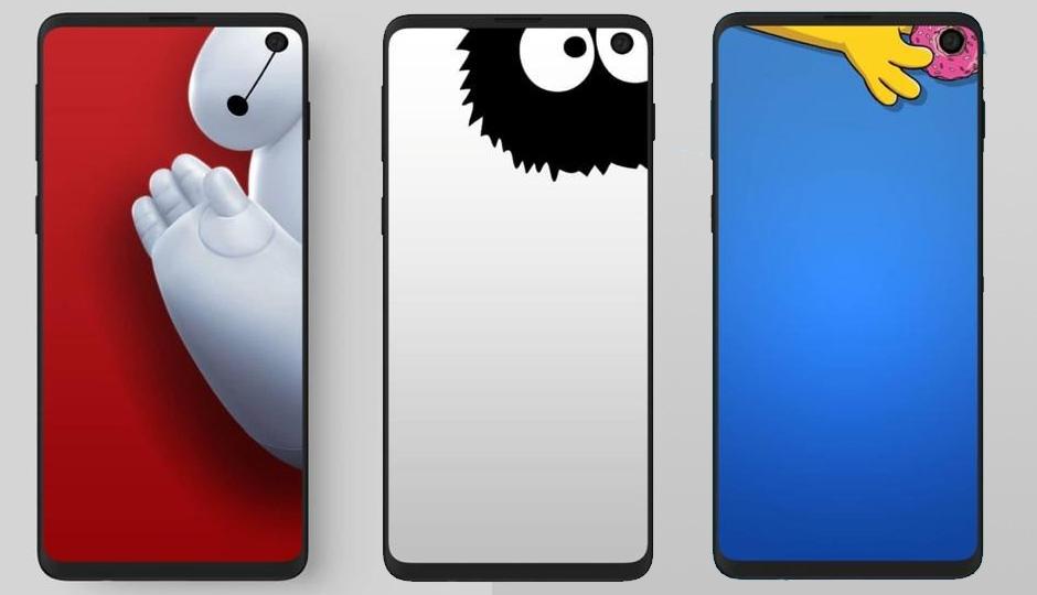 Samsung Galaxy S10 Questi Sfondi Divertenti Nasconderanno Il Foro