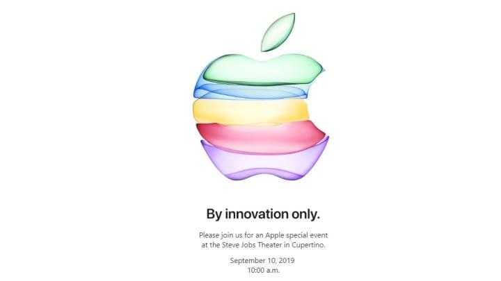 Apple September 2019 invite