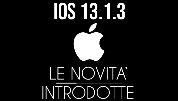 Apple iOS 13.1.3 - banner