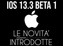 iOS 13.3 Beta 1 - banner