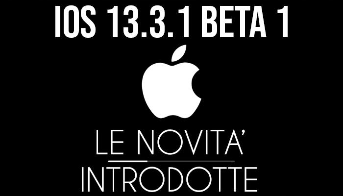 iOS 13.3.1 Beta 1 - banner
