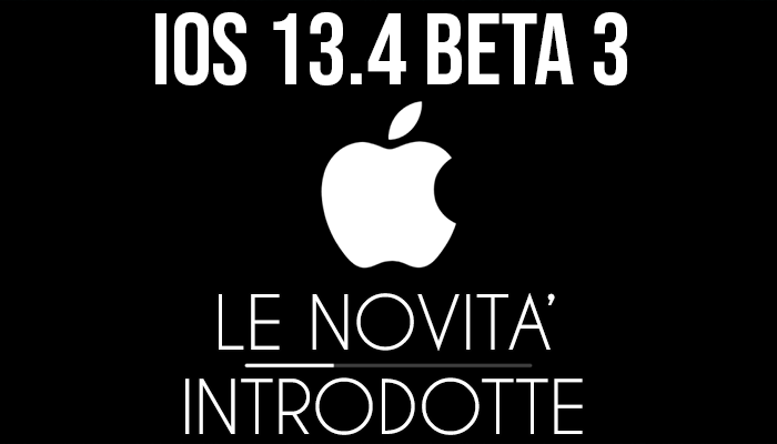 iOS 13.4 Beta 3