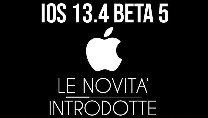 iOS 13.4 Beta 5 - banner