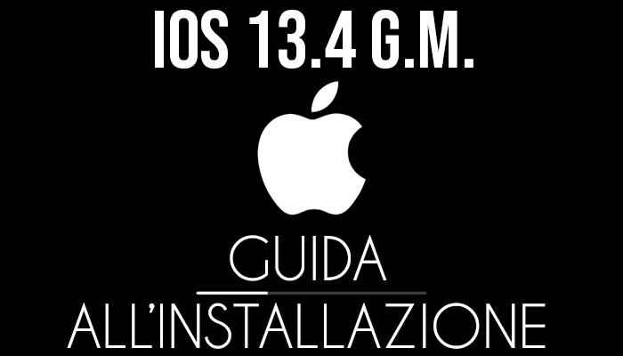 iOS 13.4 Golden Master