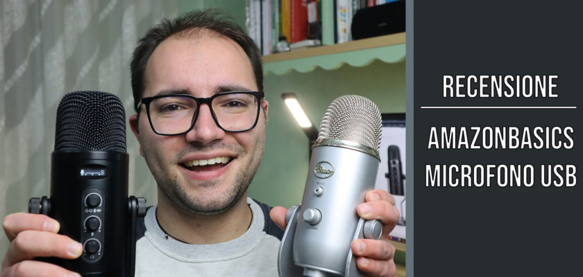 AmazonBasics Microfono USB